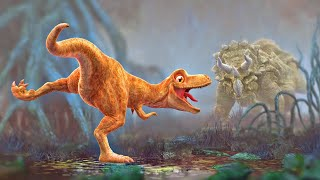 getlinkyoutube.com-Dinosaur Animation - Cartoon for Children - PANGEA Movie Trailer