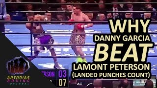 Why Danny Garcia Beat Lamont Peterson (Landed Punches Count) #WTFU