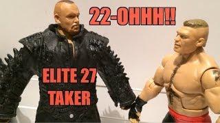 getlinkyoutube.com-WWE ACTION INSIDER: The Undertaker Elite series 27 Mattel wrestling figure WRESTLEMANIA 29 Attire