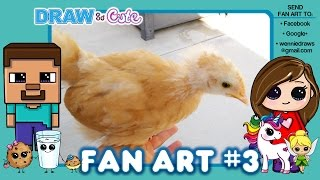 Draw So Cute Fan Art #3 Draw Cute Characters, Animals and Food
