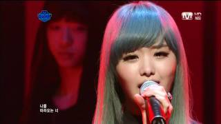 getlinkyoutube.com-[110317 HD] 송지은 (Song Ji Eun) - 미친거니 (Crazy) (Feat. Bang Yong Guk)