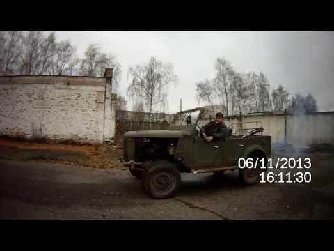 ГАЗ-69 реставрация, ПЕРВЫЙ ВЫЕЗД, запуск КРИВЫМ СТАРТЕРОМ Pan Zmitser