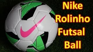 nike rolinho premier futsal ball review