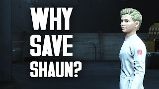 getlinkyoutube.com-Why Save Shaun? A Moral Study in Fallout 4
