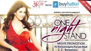 Exclusive : Sunny leone One Night Stand Movie Promotion at Bangalore