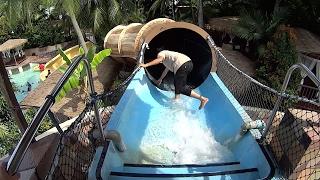 getlinkyoutube.com-Darkest Hole Water Slide at Wet World Water Park