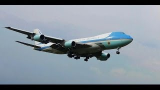 getlinkyoutube.com-Air Force One with US President Barack Obama on board arrives in Malaysia (Ultra HD 4K video) 2014