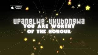 Spirit Of Praise Choir - Ufanelwe(lyric video)