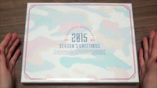 getlinkyoutube.com-Unboxing BTS (Bangtan Boys) 방탄소년단 2015 Season's Greetings