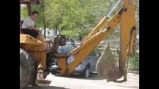 getlinkyoutube.com-1990 CASE 680L LOADER BACKHOE FOR SALE