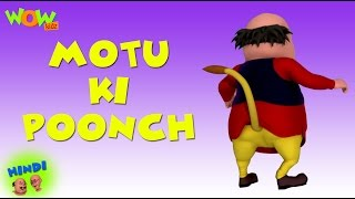 getlinkyoutube.com-Motu Ki Poonch - Motu Patlu in Hindi - 3D Animation Cartoon for Kids