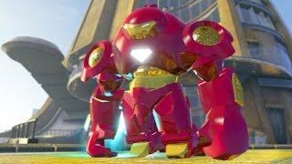 getlinkyoutube.com-LEGO Marvel Super Heroes #05: Super Homem de Ferro / Invadindo a Torre Stark - HD gameplay