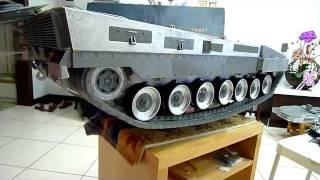 getlinkyoutube.com-1/8 RC tank Leopard 2A6 台灣組裝