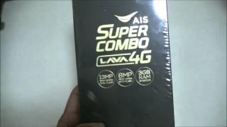 getlinkyoutube.com-Review AIS Super Combo 4G, Lava A2   Unbox   แกะกล่อง รีวิว เอไอเอส ซูเปอคอมโบสี่จี ลาวา เอทู