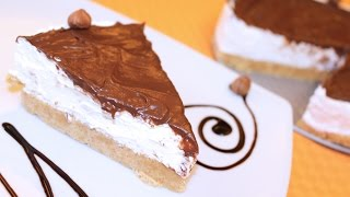 getlinkyoutube.com-Torta Nutella e Mascarpone - Ricetta di Fidelity Cucina