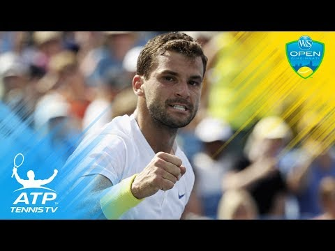 Grigor Dimitrov`s brilliant backhands vs John Isner | Cincinnati 2017 Semi-Final