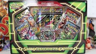 getlinkyoutube.com-Opening A Pokemon Shiny Rayquaza EX Box!