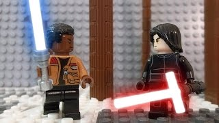 getlinkyoutube.com-LEGO Star Wars Episode VII Kylo Ren vs. Finn