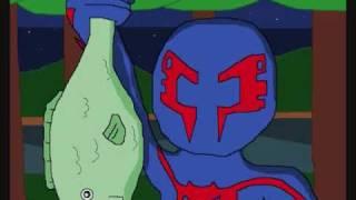getlinkyoutube.com-Spider Man Shattered Dimensions (Camping)