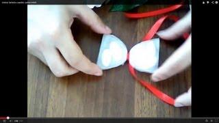 getlinkyoutube.com-tutorial farfallina papillon portaconfetti