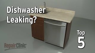 getlinkyoutube.com-Top 5 Reasons Dishwasher Leaks — Dishwasher Troubleshooting