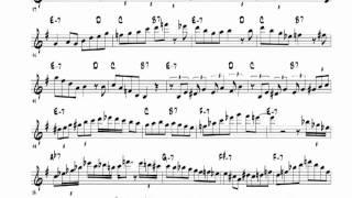 getlinkyoutube.com-Bye George - Michael Brecker solo Transcription by Jacob Thomas
