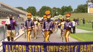 getlinkyoutube.com-Alcorn vs MVSU 2013 ~ Stadium Entrance