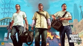 Grand Theft Auto 5 Trailer (GTA V) - ALL 3 CHARACTERS - Michael, Franklin, Trevor! (Xbox 360/PS3/PC)