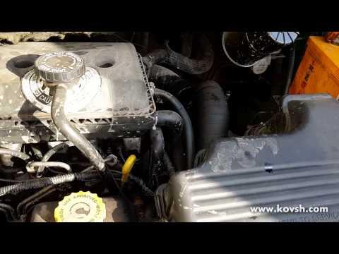Dodge Ram Van. Какой звук при вылетевших штангах толкателей