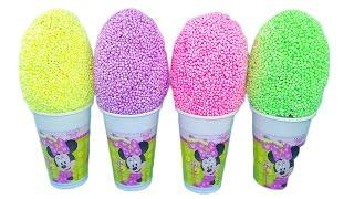 getlinkyoutube.com-Minnie Mouse! Uova con sorprese! Nuova pasta modellante colorata! Giochi per bambini!