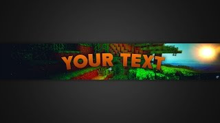 FREE Minecraft Banner Template + TUTORIAL ! [DOWNLOAD LINK IN DESCRIPTION]