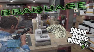 TUTO GTA V | Gagner de l'argent facilement et avec plaisir (braquage) |
