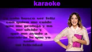 getlinkyoutube.com-violetta si es por amor karaoke