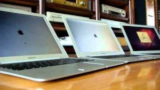 1st, 2nd, 3rd gen macbook air speed test