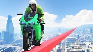 getlinkyoutube.com-IMPOSSIBLE GTA 5 TIGHTROPE! (GTA 5 Funny Moments)
