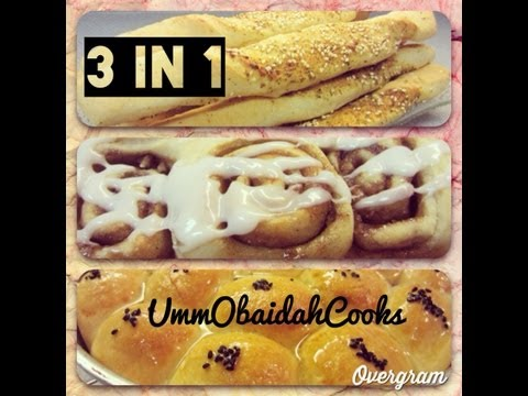 Ramadan Special #3: 3 in 1 - Make 3 different recipes with 1 batch of standard dough