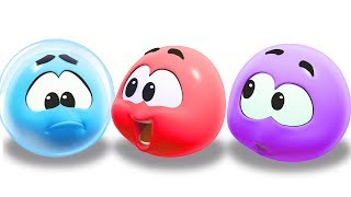 Colors With WonderBalls | Learning Videos For Babies | Cartoon Candy