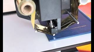 getlinkyoutube.com-Audley digital hot foil stamping machine ADL-3050A printing effect.flv
