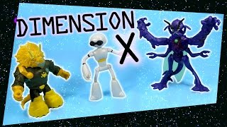 getlinkyoutube.com-Teenage Mutant Ninja Turtles Dimension X Lord Dregg Fugitoid Mozar Walmart exclusives