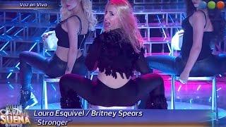 getlinkyoutube.com-Laura Esquivel es Britney Spears- Tu Cara me Suena 2015