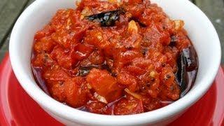 Cabbage & Tomato Chutney..