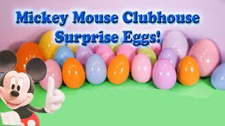 getlinkyoutube.com-MICKEY MOUSE CLUBHOUSE Disney Mickey Mouse Funny Surprise Eggs  Toys and Candy Video