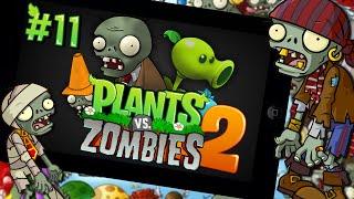 getlinkyoutube.com-새로운 캐릭터,왕좀비,식물강화?! 식물대좀비 투! 11편(plants vs zombies 2) - 모바일 Mobile [양띵TV삼식]