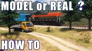 getlinkyoutube.com-Realistic Scenery Volume 1 - Create scenery that looks real! - Model Railroads
