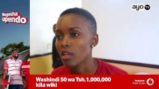 Naibu Waziri wa Afya kaweka baraka zake kwenye rangi za kucha za Flaviana Matata