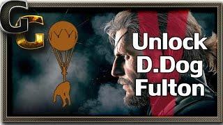getlinkyoutube.com-Metal Gear Solid 5 - The Phantom Pain - Unlock D.Dog Fulton Suit