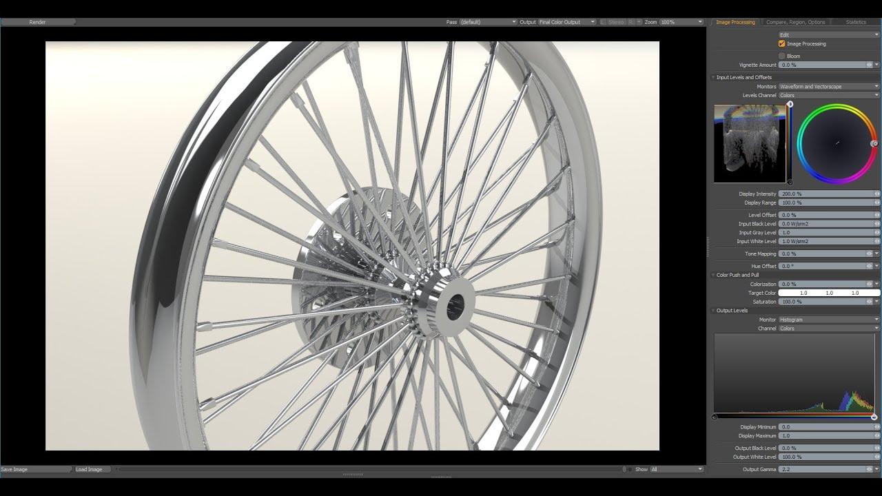 Luxology Modo - Modeling a Chopper Spoke Rim