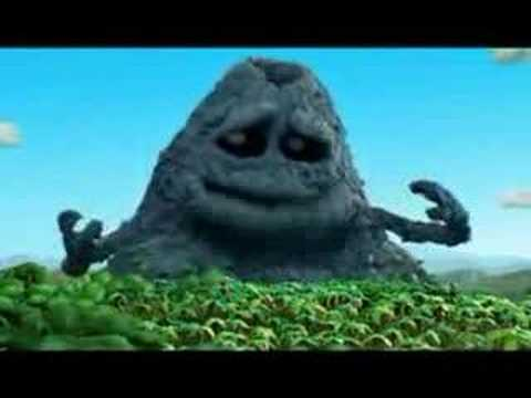 Volvic Commercial (George Volcano and Tyrannosaurus Alan)