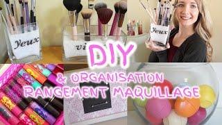 getlinkyoutube.com-DIY & ORGANISATION | Rangement maquillage