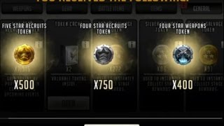 getlinkyoutube.com-Walking Dead : Road to Survival - WAR CHESTS 25 PACK OPENING- MUCH BETTER!!!